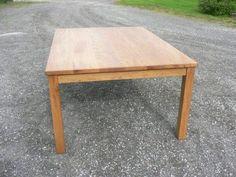 Square spisebord fra Brubakken Home
