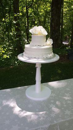 Soporte de la torta torta de madera soporte soporte de la