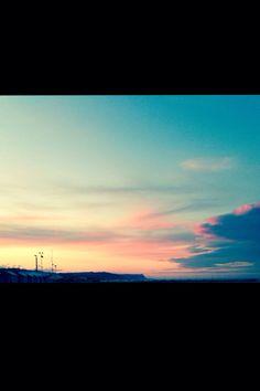 A free-mind sunset