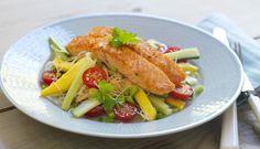 salmon with salad, Fotograf: Studio Dreyer-Hensley