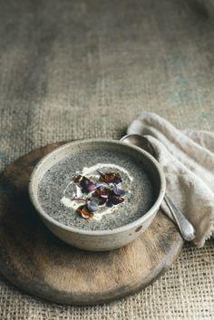 Sunday Night Portobello Mushroom Soup with Gruyere & Caramelised Onion Toasties From the Kitchen
