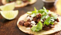 If you can't find any fish in your sea, fill tacos with meaty steak. This Traeger recipe is deliciously carnivorous, carne asada tacos smoked to flavorful perfection make a fiesta. Authentic Mexican Recipes, Best Mexican Recipes, Favorite Recipes, Carne Asada, Traeger Recipes, Grilling Recipes, Beef Recipes, Healthy Recipes, Top Recipes