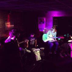 Hill Valley band (great music)! #SoshInrocksLab