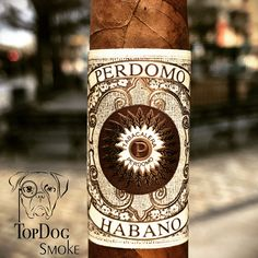 #Perdomo #Habano is pepper, chocolate, and cedar goodness with hints of espresso and cacao. Beautifully complex. #cigarsnob #cigaroftheday #cigaraficionado #cigars #cigar #cigarsociety #topdogsmoke