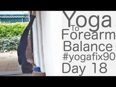 Yoga to Forearm Balance (Pincha Mayurasana) Day 18 Yoga Fix 90 with Lesley Fightmaster - YouTube