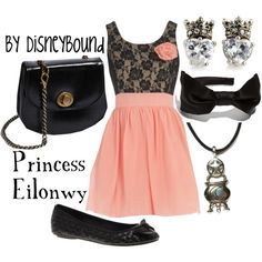 Princess Eilonwy, created by lalakay.polyvore.com