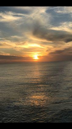 Punta del Este sunset #sunset # sky #view #sun #ocean #wonderful #pointview #landscape #clouds #infinity #majestic #photography