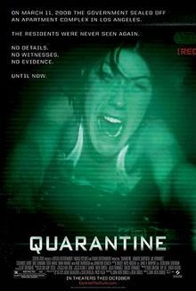 Now watching on Fox: Quarantine. Not as terrible as I thought it would be. Made me jump a few times when I first saw it at the movies.