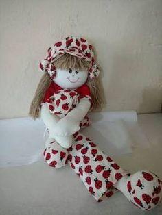 Resultado de imagem para bonecas de pano pernuda passo a passo Sewing Toys, Doll Patterns, Snowman, Teddy Bear, Easter, Holiday Decor, Outdoor Decor, Home Decor, Moana