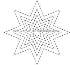 Free Printable Heart Stencils  Star Templates  Star Stencil