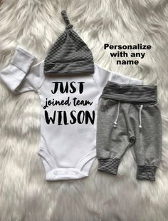 BABY BOY Coming Home Outfit baby boy personalized jogger baby hat baby  shower gift summer baby boy gift clothes new mom expecting mom gift cf0044e13