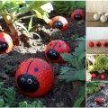 Idées créatives - Cute Golf Ball Coccinelles bricolage