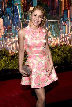 Shakira attends the Los Angeles Premiere of Walt Disney Animation Studios' 'Zootopia.'