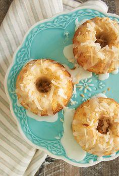 Mini Coconut Bundt Cakes