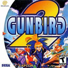 Gunbird 2 (Sega Dreamcast, for sale online Cartoon Elephant, A Cartoon, Playstation, Turbografx 16, Elephants Playing, Cd Cases, Sega Dreamcast, Sega Saturn, The Great Escape