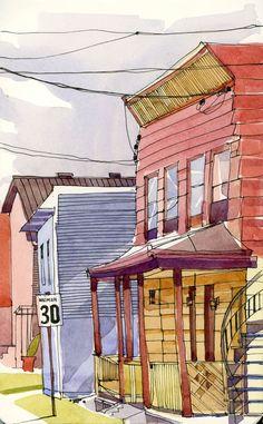 House On Seventh  |  Shari Blauk