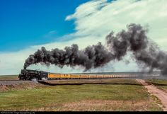 RailPictures.Net Photo: UP 3985 Union Pacific Steam 4-6-6-4 at Lynch, Wyoming by Doug Lilly