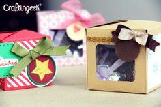 Craftingeek*: Cubebox: Cajita para regalo DIY