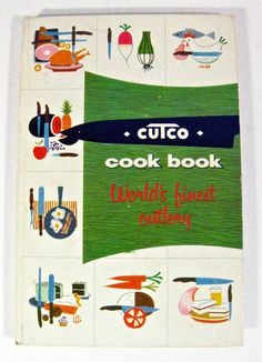 vintage cook book - Cutco Meat and Poultry Cooking - Volume 1 - 1950s - 8.00