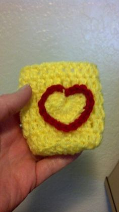 Heart coozie