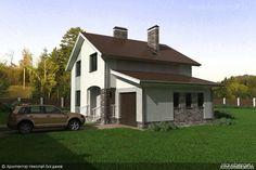 Проект дома 8-2 - Проекты домов и коттеджей, загородное строительство, строительство дома под ключ, построить дом