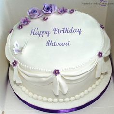 Check this out how people are wishing a happy birthday these days. Birthday Cake For Wife, Birthday Cake Write Name, Birthday Wishes With Name, Birthday Cake Writing, Happy Birthday Cake Images, Birthday Wishes Cake, Birthday Cake Pictures, Beautiful Birthday Cakes, Happy Birthday Cakes