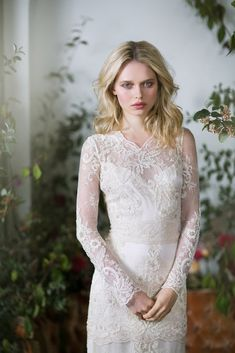 41f2c638d55 Pearle Couture Designer Wedding Dress by Claire Pettibone