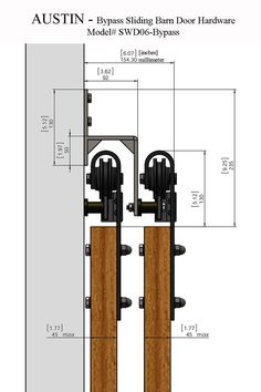 17 Best Ideas About Bypass Barn Door Hardware On Pinterest Diy - 736x1104 - jpeg