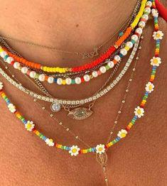 Bead Jewellery, Beaded Jewelry, Jewelery, Handmade Jewelry, Beaded Bracelets, Hippie Jewelry, Trendy Jewelry, Summer Jewelry, Cute Jewelry