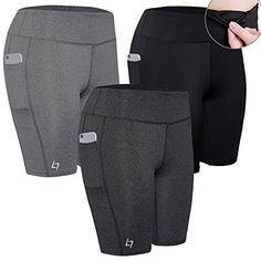 f32534180 FITTIN Women's Sports Shorts Activewear for Active Fitness Pocket Yoga Running  Workout Gym Running Leggings XL: FITTIN Women's Active Fitness Pocket Sports  ...