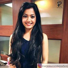Rashmika Mandana Most Beautiful Bollywood Actress, Beautiful Indian Actress, Beautiful Girl Hd Wallpaper, Indian Natural Beauty, Cute Princess, Stylish Girl Pic, Beautiful Smile, Cool Hairstyles, Hair Beauty