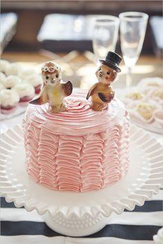 bird cake wedding toppers
