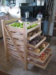 Garden Harvest Rack for Kitchen