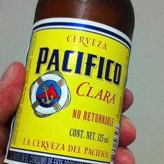 Pacífico Mexican fresh beer