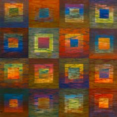 josef++albers+quilts   ... colors, working both in harmonies and dissonances to shape her quilts
