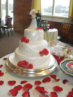 Christmas-Wedding-Cake-for-my-Marine-Son
