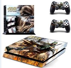 >> Click to Buy << Star Wars PS4 Skin Sticker For Sony Playstation 4 PS4 Console protection film and Cover Decals Of 2 Controller #Affiliate