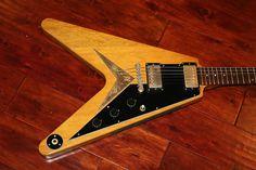 1983 Gibson Flying V Korina   Reverb