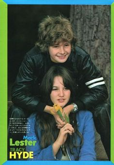 Mark Lester and Tracy Hyde
