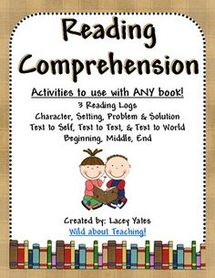 Reading Comprehension Ideas
