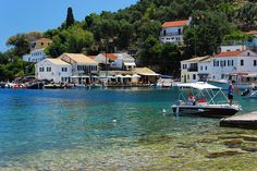 Loggos village in Paxos island, Ionian sea, Greece Paxos Island, Places Ive Been, Places To Visit, Greece Holiday, Greek Islands, Planet Earth, Time Travel, Google Images, Beautiful Places