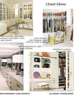 Hermosa Beach Residence Master Bedroom Closet Design Ideas