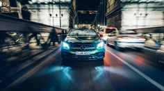 Here comes the Mercedes-AMG A 45 4MATIC. Photo by Dennis Noten (www.dennisnoten.com).  [Mercedes-AMG A 45 4MATIC   Fuel consumption combined: 7.3–6.9 l/100km   combined CO₂ emissions: 171–162 g/km   http://mb4.me/efficiency_statement]
