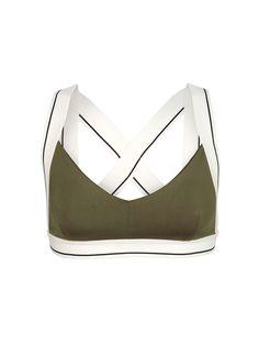 Fashercise - Stylishly fit » Army X sports bra - Fitness Women's active - http://amzn.to/2i5XvJV