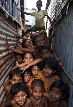 from the bangladeshi slum of korail in dhaka. photo jonathan torgovnik