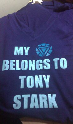 My heart belongs to Tony Stark ❤ yes!