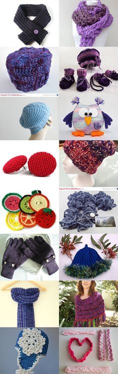Knitted gifts by Edna on Etsy--Pinned with TreasuryPin.com