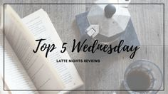 TOP 5 WEDNESDAY | BOOKS YOU'VE READ BC OF BOOKTUBE/BLOGGING/ETC. - Latte Nights Reviews