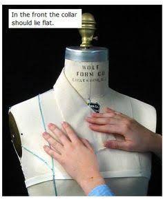 Risultati immagini per how to drape a collar