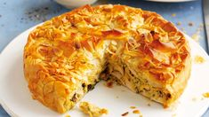 This delicious chicken pie recipe by Sophie Conran comes encased in puff pastry and can easily be adapted to include mushrooms, carrots and other favourites Puff Pastry Recipes, Pie Recipes, Dinner Recipes, Chicken Recipes, Dinner Ideas, Yorkshire Pudding Batter, Chicken And Mushroom Pie, Steak And Ale, Bakewell Tart
